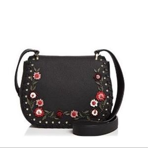DANIELS DRIVE EMBELLISHED TRESSA SHOULDER BAG